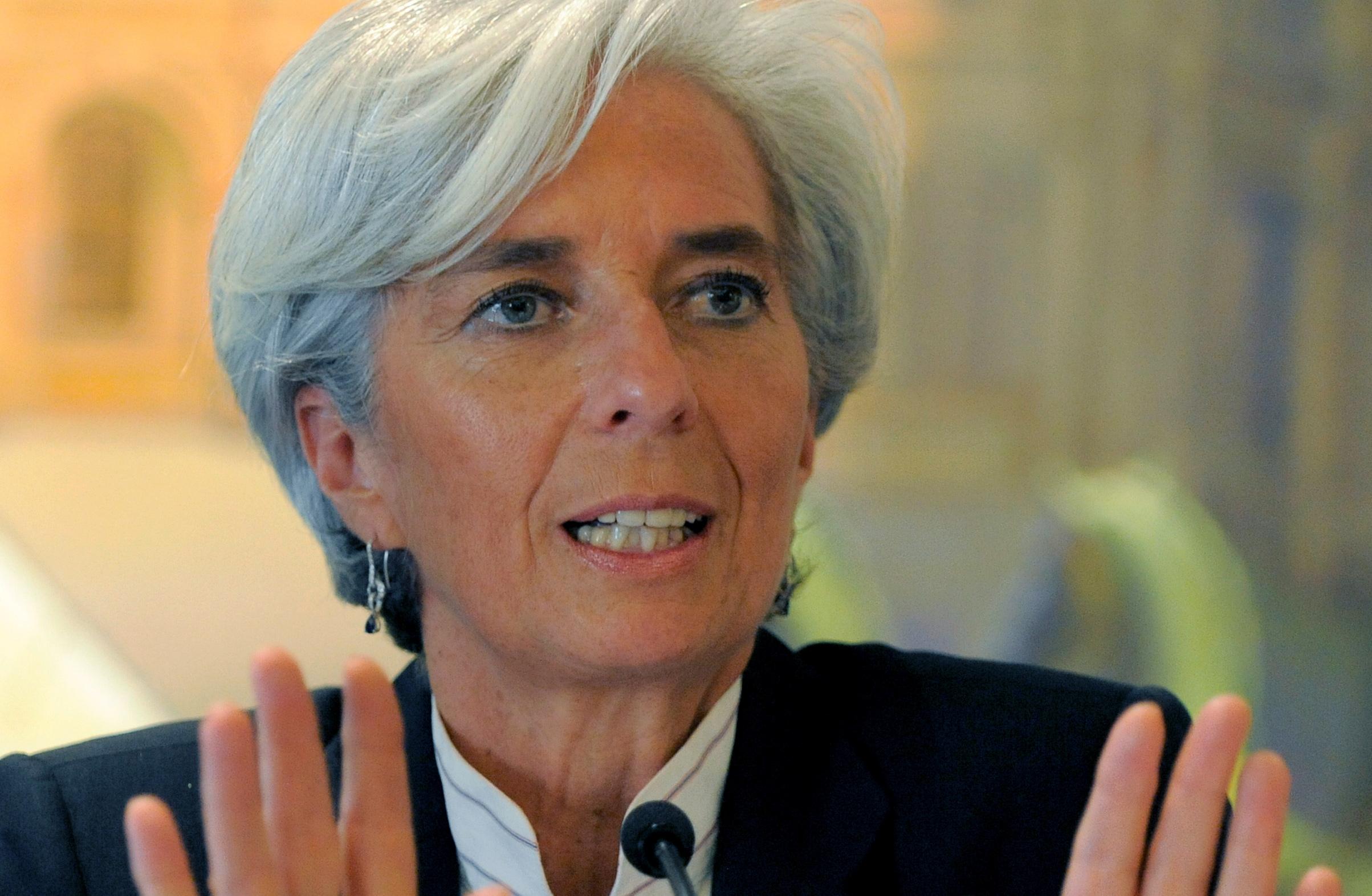 Christine lagarde, președinte Banca Centrală Europeană
