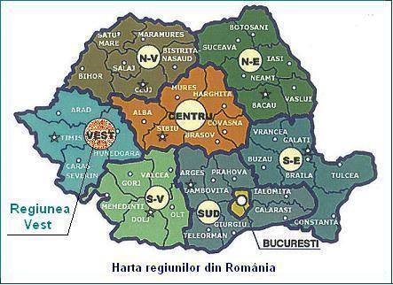Regionalizarea Redeseneaza Harta Romaniei Primul Raport Oficial