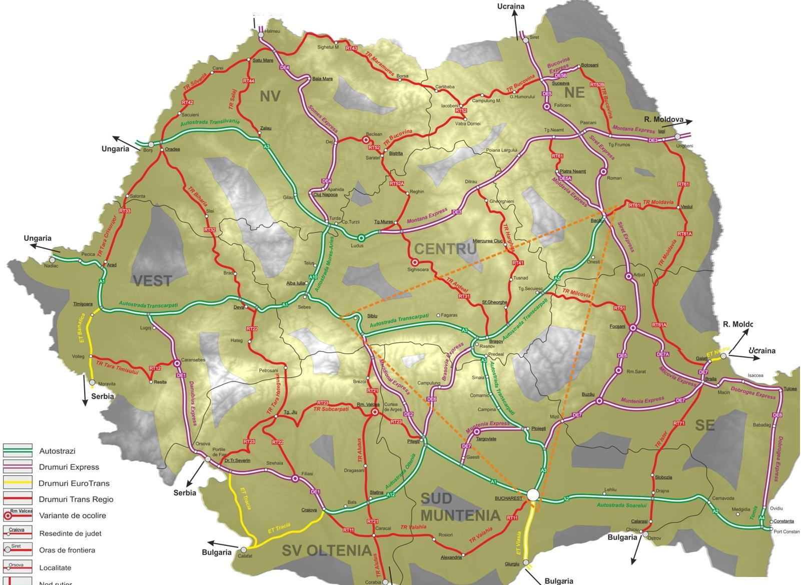 Master Planul De Transporturi Noua Hartă A Guvernului
