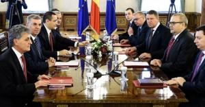 Premierul Victor Ponta va merge la noile consultări însoțit de Liviu Dragnea, Valeriu Zgonea și Ioan Chelaru