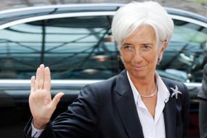 Christine Lagarde, directorul FMI