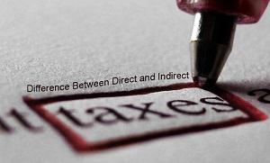 taxare directa, taxare indirecta