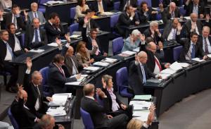 Bundestag - Abstimmung