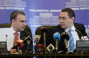 Înființarea noii Agenții a fost anunțată de fostul ministru Darius Vâlcov la începutul lunii martie - când ministrul încă nu știa, că recuperarea prejudiciilor îl va viza în mod direct.  FOTO: Mediafax