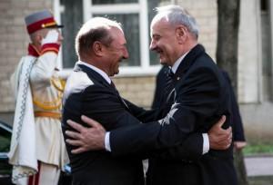 Traian Băsescu și Nicolae Timofti