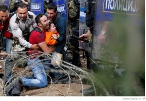 refugiati macedonia