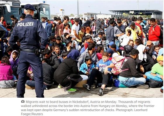 refugiati controale granita austria ungaria