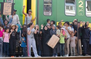 refugiati trenuri