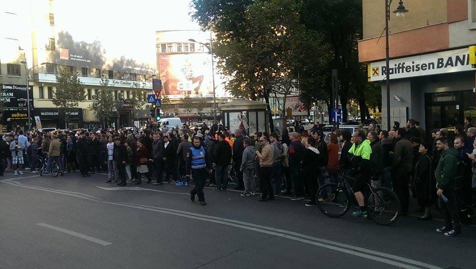 protest accident gigina oprea