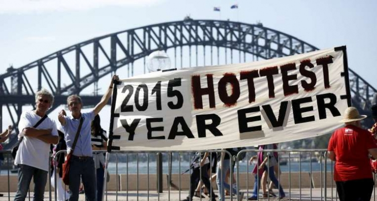 cop 21 2015 cel mai calduros an