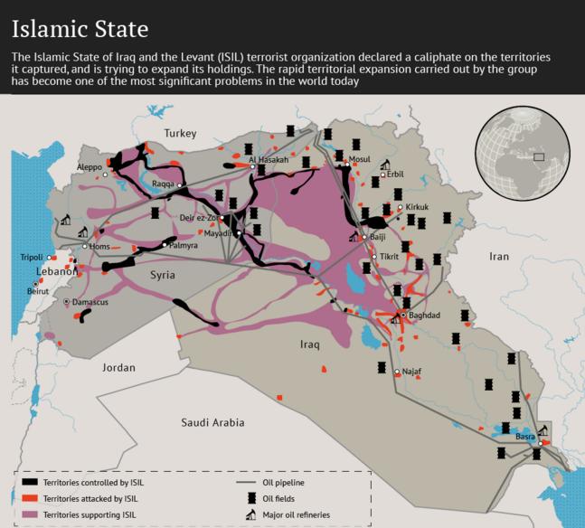 harta teritorii stat islamic