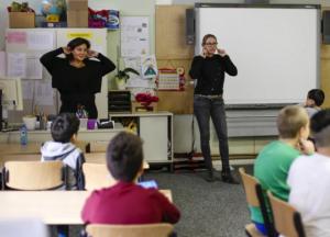 germania scoala copii refugiati