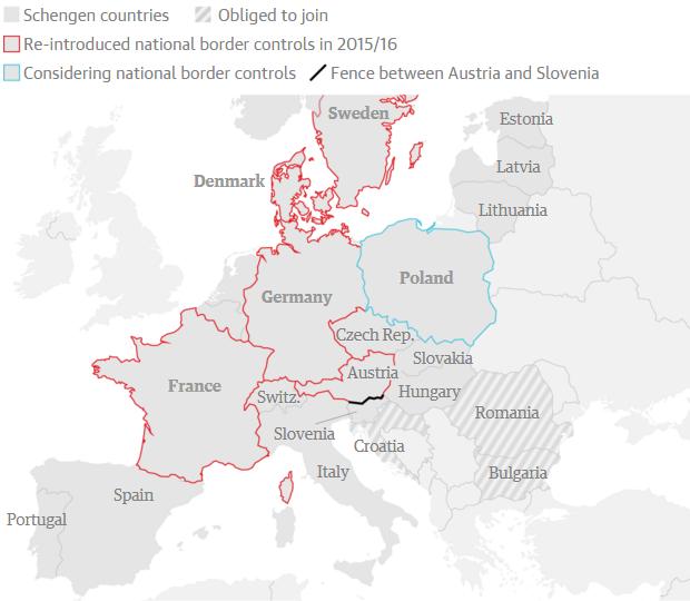 cât de liber se mai circulă prin schengen