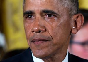 obama in lacrimi