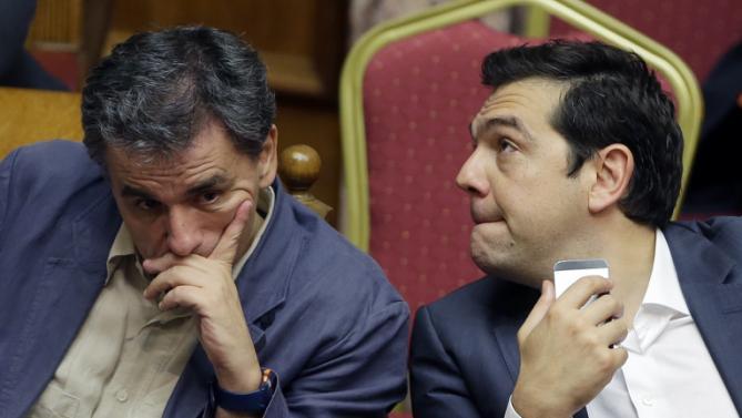 Alexis Tsipras, Euclid Tsakalotos