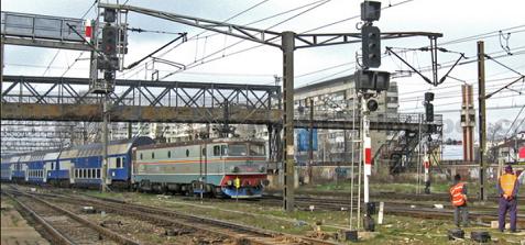 infrastructura feroviara
