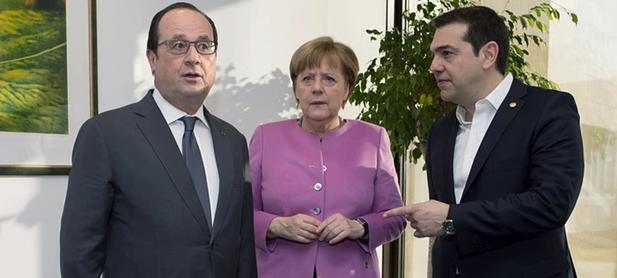 merkel hollande tsipras