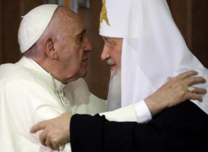 papa francisc patriarhul chiril
