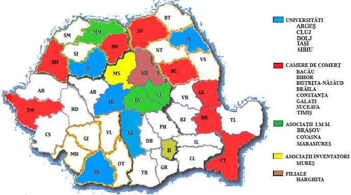 hartă consilieri gratuiți