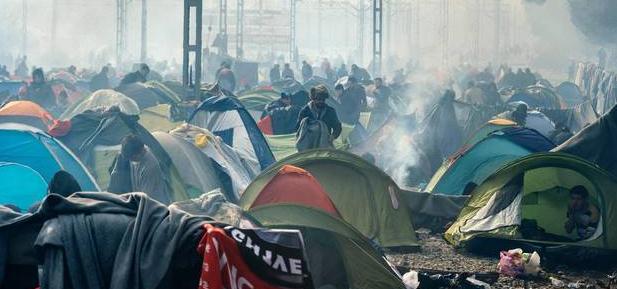 refugiati granita grecia macedonia idomeni