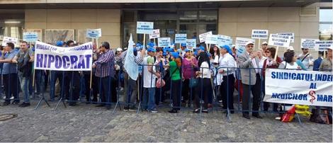 santate proteste ministerul sanatatii