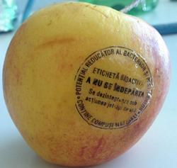 mar eticheta antimicrobiana