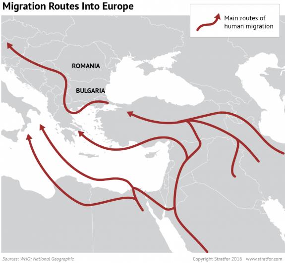 refugiati rute intrare europa