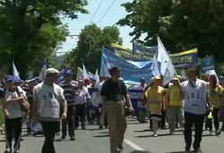 mars protest educatie