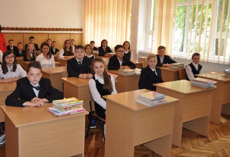 clasa elevi scoala