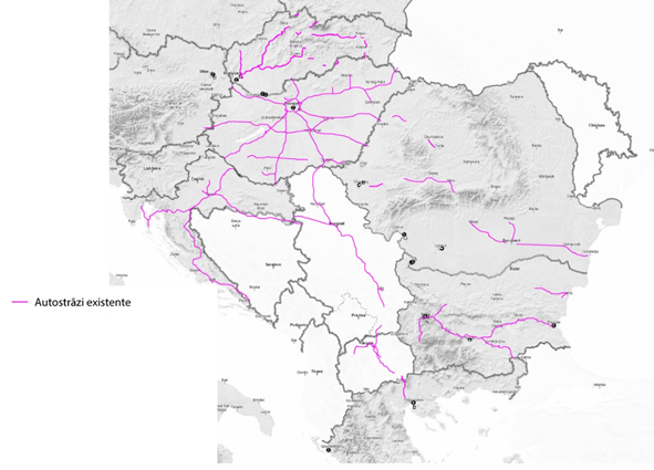 Roads that bypass Romania: Maps of Romania\'s speed in a multi-speed ...