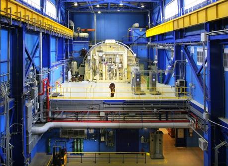 Raactor nuclear la Cernavodă