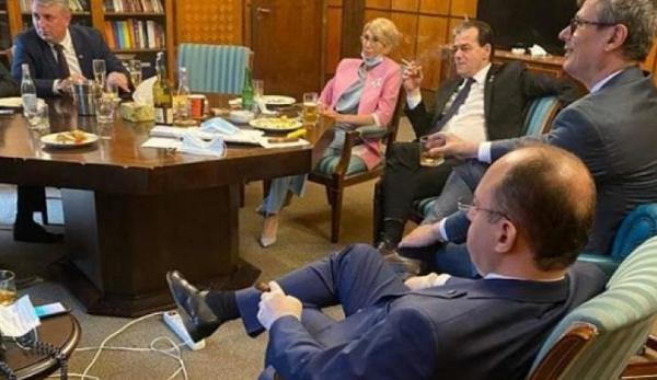 Premierul Ludovic Orban – amendat cu 3.000 de lei pentru că a ...