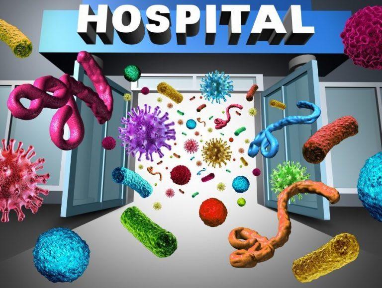 bacterii nosocomiale)
