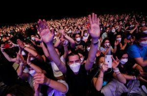 concert aer liber coronavirus masca vaccinare