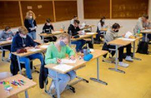 elevi clasa examen coronavirus