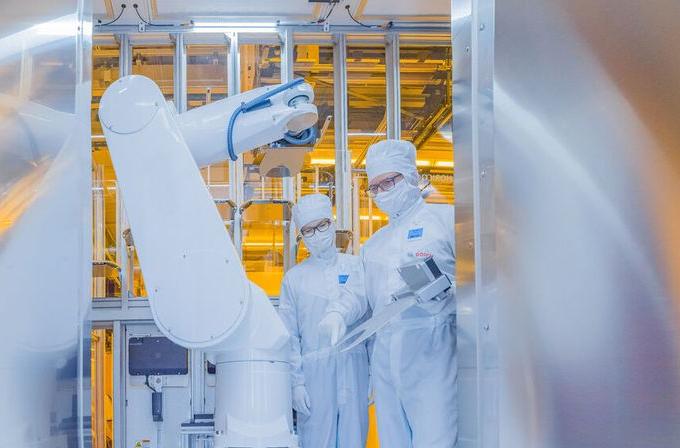 Fabrica Bosh semiconductori Dresda