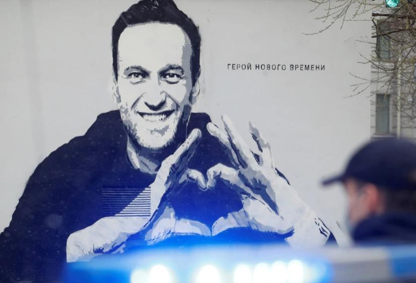 Pictura murala Alexei Navalnii