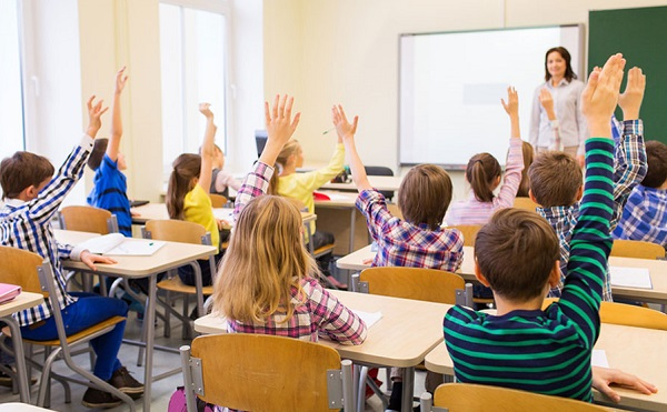 clasa elevi profesoara