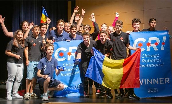 echipa robotica romania campionat sua 2021