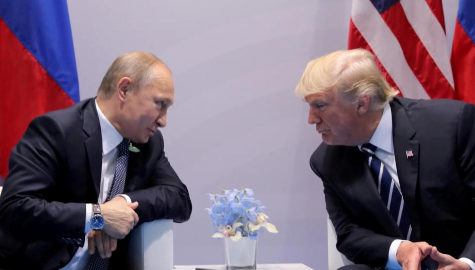 Vladimir Putin Donald Trump summit G20
